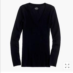 J Crew Perfect Fit Long Sleeve T Shirt